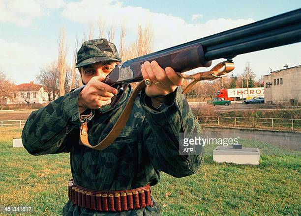 An undated file photo shows Bulgarian former soccer star Trifon Ivanov in the city of Veliko Tarnovo AFP PHOTO / ANTON UZUNOV