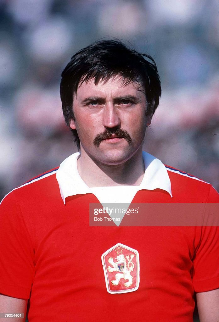 An undated file photograph of Antonin Panenka, the Czechsolovakian Footballer. : News Photo