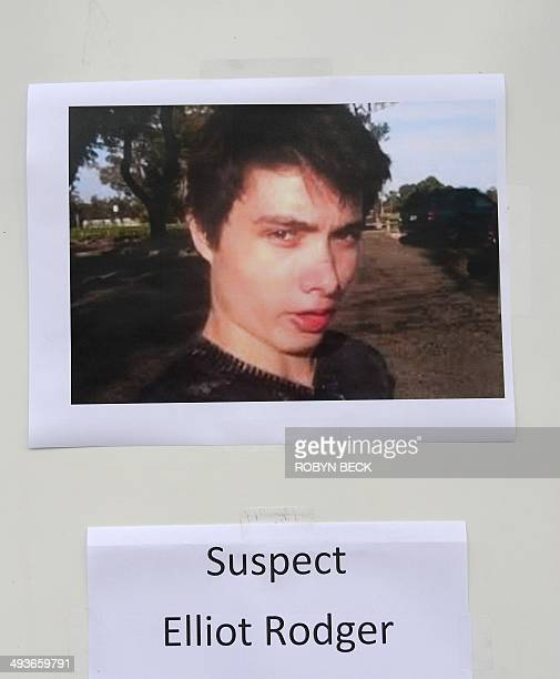 An undated photo of murder suspect Elliot Rodger is seen at a press conference by the Santa Barbara County Sheriff in Goleta California May 24 2014...
