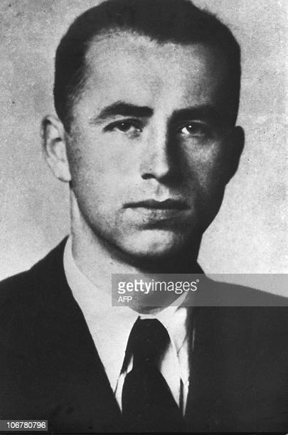 An undated picture of Austrianborn Nazi war criminal Alois Brunner The Simon Wiesenthal Center in Israel asked Prime Minister Ehud Barak 12 December...