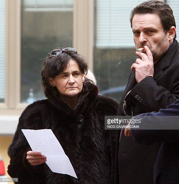 An undated picture shows Paola Pellinghelli and Paolo Onofri mother and father of Italian Tommaso Onofri 17monthsold who was abducted from his home...