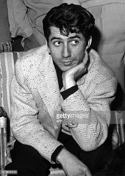 An undated picture taken in Paris shows French cinema and theater actor Daniel GTlin who died in Paris aged 81 his family announced 29 November 2002...