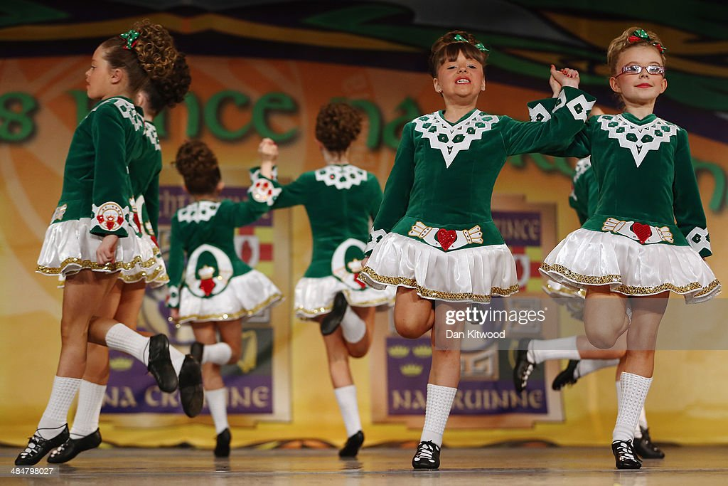 Dancers Compete In The World Irish Dancing Championships : News Photo