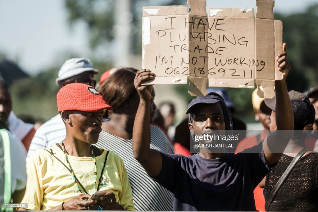 SAFRICA-POLITICS-PROTEST-MAYDAY : News Photo