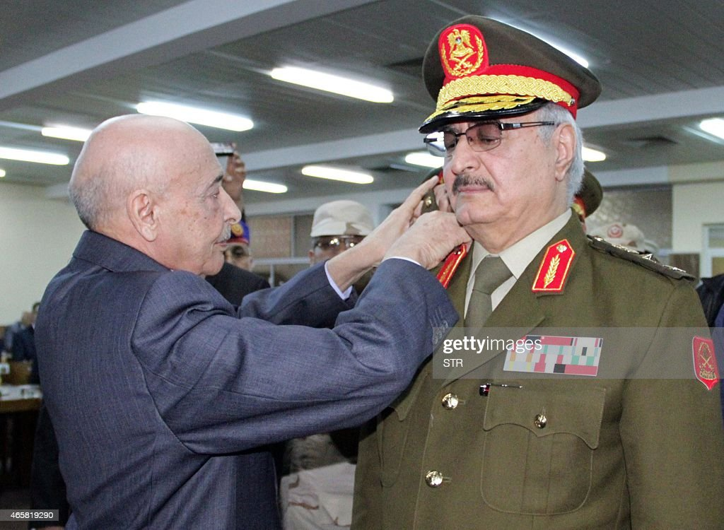 LIBYA-POLITICS-UNREST-ARMY-HAFTAR : News Photo