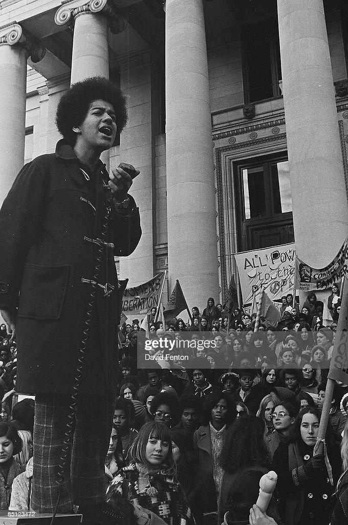Black Panther Rally, 1969 : ニュース写真