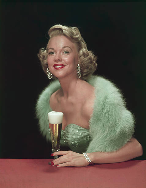 A Woman & Her Beer
