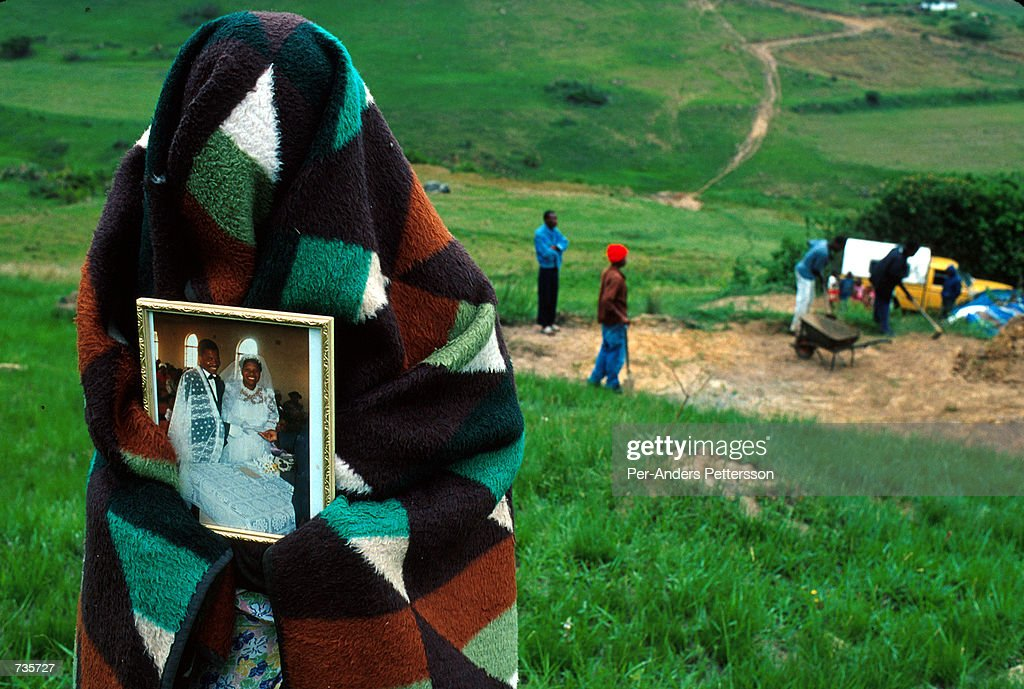 Aids in South Africa : News Photo