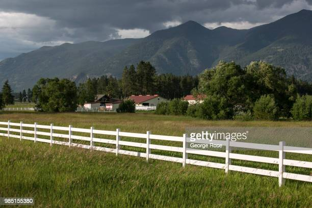 An unusally cool and wet start to summer is viewed on June 22 near Kalispell Montana Home to Glacier National Park Flathead Lake and dozens of...
