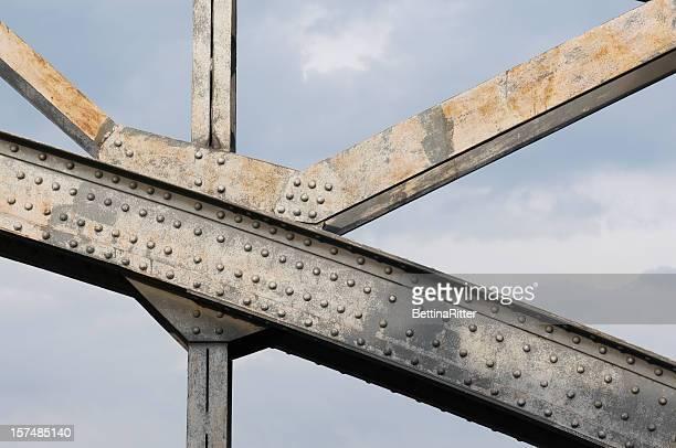 Detalhe da ponte de Aço