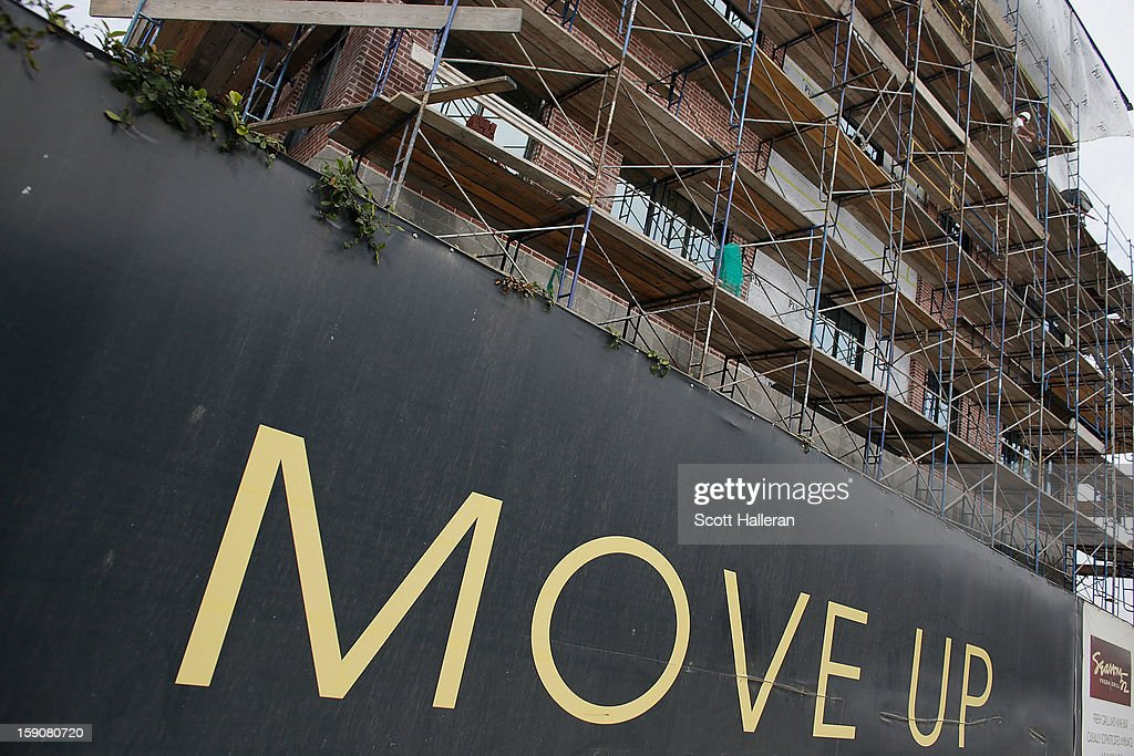 An upscale apartment project is seen during construction in the Galleria area on January 7, 2013 in Houston, Texas. Houston's success with job growth in recent years has placed the city among the top markets in the country for elevated income levels, according to reports.