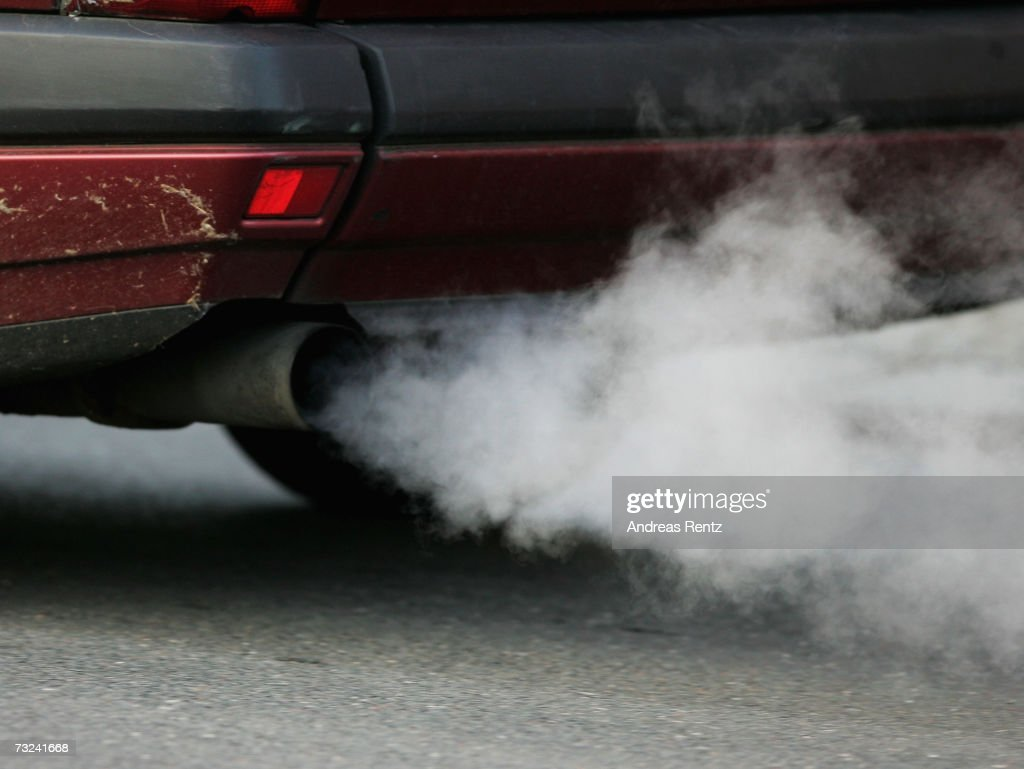 An vehicle's exhaust pipe releases fumes on February 7, 2007 in Berlin, Germany. The European Commission announced new carbon dioxide (CO2) targets for car makers which the European Automobile Manufacturers Association said it could not agree with, stating they are 'unbalanced and damaging to the European economy in terms of wealth, employment and growth potential.'