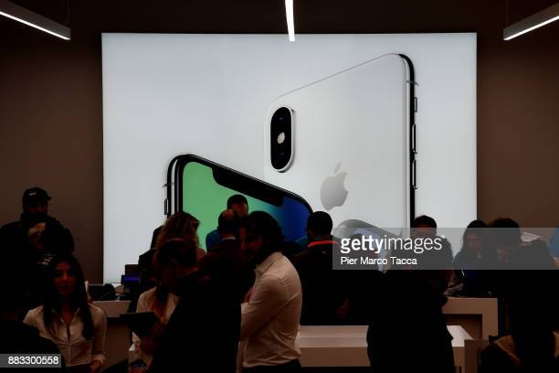 An view of an Apple store of the new City Life shopping district opened todayThe new City Life shopping district is inaugurated today as one of the...