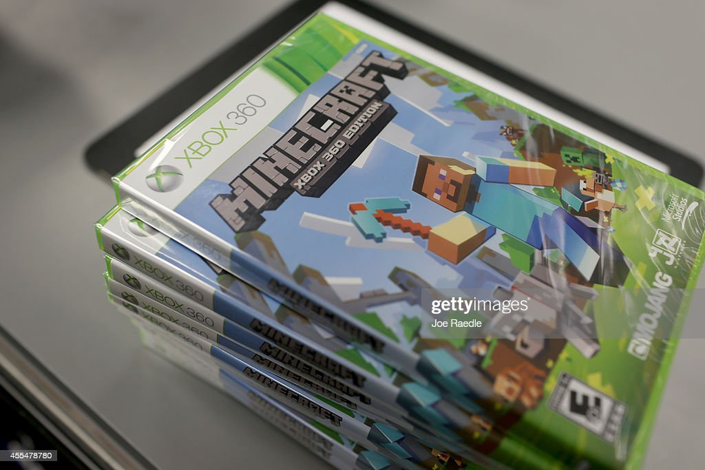 An Xbox 360 Minecraft Game Is Seen At A Gamestop Store On Septemeber