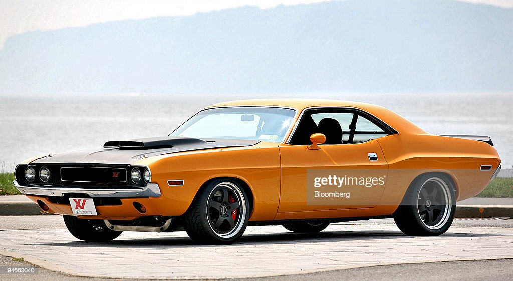 An XV Motorsports-modified 1970 Dodge Challenger XV001 vinta ...