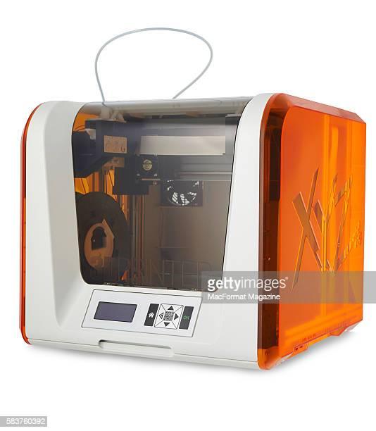 An XYZprinting da Vinci Jr 10 3D printer taken on January 15 2016