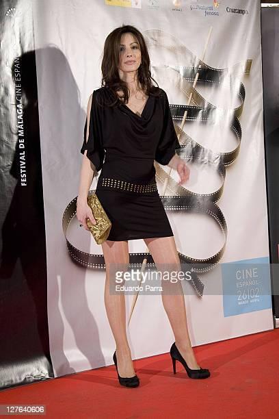 Ana Alvarez attends Malaga Film Festival party photocall at Casa de America on March 1, 2011 in Madrid, Spain.