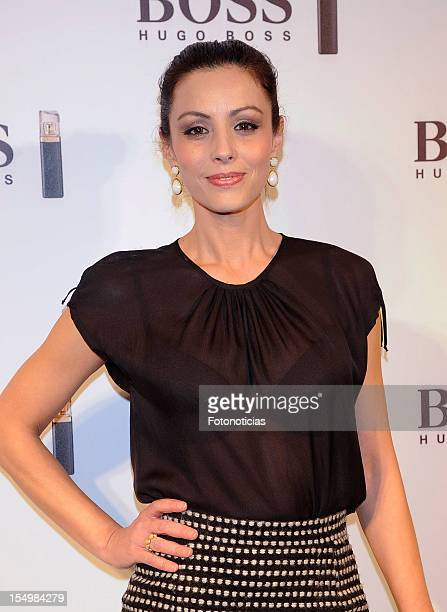Ana Alvarez attends the launch of 'Boss Nuit Pour Femme' fragrance at the Palacio de Neptuno on October 29 2012 in Madrid Spain