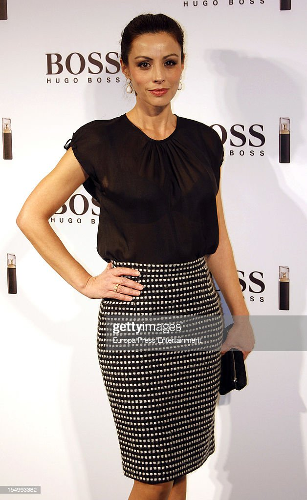 Ana Alvarez attends the launch of 'Boss Nuit Pour Femme' fragrance on October 29, 2012 in Madrid, Spain.
