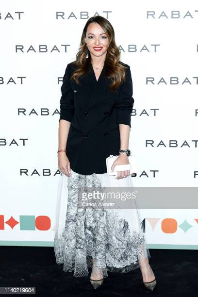 Ana Antic attends Rabat's Jewellry new collection presentation at Bless Hotel on April 03 2019 in Madrid Spain
