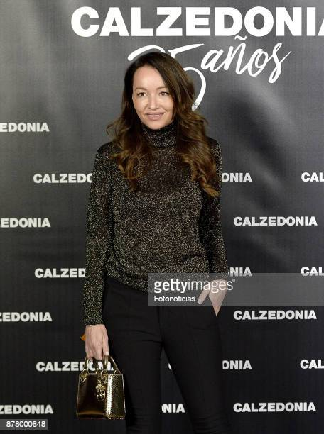 Ana Antic attends the Calzedonia 25th Anniversary party at the Real Jardin Botanico on November 23 2017 in Madrid Spain