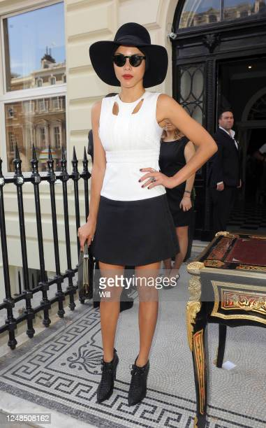 Ana Araujo attends the Julien Macdonald show during London Fashion Week Spring/Summer 2012 on September 17 2011 in London England