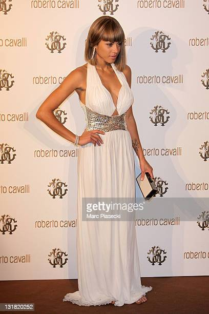 Ana Araujo attends the private dinner on 'Cavalli' yacht photocall on May 18 2011 in Cannes France