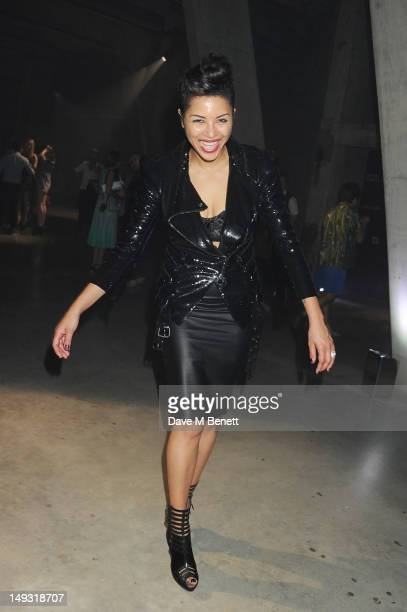 Ana Araujo attends the Warner Music Group PreOlympics Party in the Southern Tanks Gallery at the Tate Modern on July 26 2012 in London England