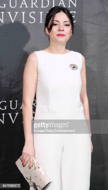 Ana Arias attend 'El Guardian Invisible' premiere at Capitol cinema on March 1, 2017 in Madrid, Spain.