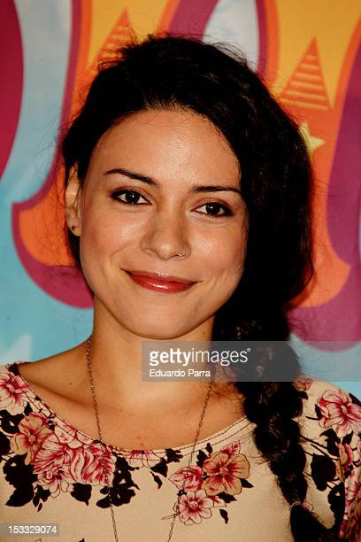 Ana Arias attends 'Eoloh' premiere at El Canal theatre on October 3 2012 in Madrid Spain