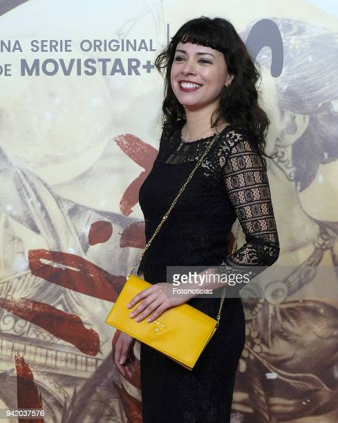 Ana Arias attends 'Felix' Episode 1 premiere at Callao Cinema on April 4 2018 in Madrid Spain
