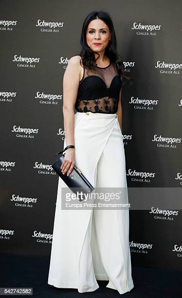 Ana Arias attends the 'Ginger Ale By Schweppes' party the Palacio de Santa Coloma on June 23, 2016 in Madrid, Spain.