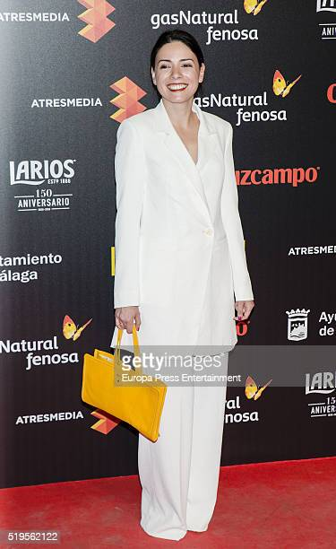 Ana Arias attends the Malaga Film Festival 2016 presentation cocktail at Circulo Bellas Artes on April 6, 2016 in Madrid, Spain.