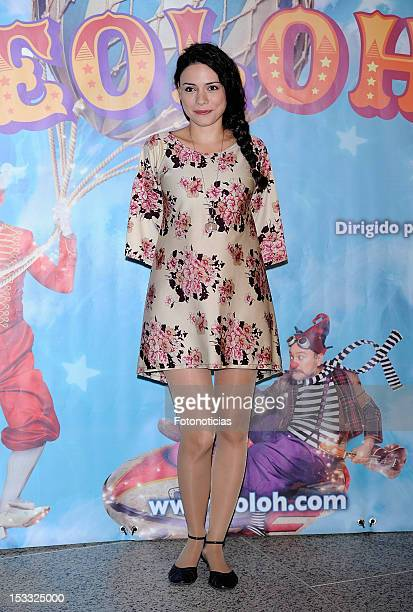 Ana Arias attends the premiere of 'Eoloh' at the Teatros del Canal on October 3 2012 in Madrid Spain