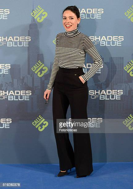 Ana Arias attends the 'Shades of Blue' premiere at Callao Cinema on April 5, 2016 in Madrid, Spain.
