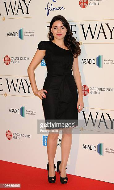 Ana Arias attends 'The Way' premiere at Callao Cinema on November 10 2010 in Madrid Spain