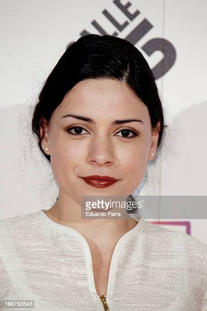 Ana Arias attends 'Total Channel' party photocall at Shoko disco on April 16 2013 in Madrid Spain