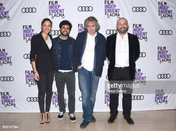 Ana Asensio Amman Abbasi Michael O'Shea and Antonio Mendez Esparza attend the Film Independent at LACMA hosts special screening of 'A Child Is...