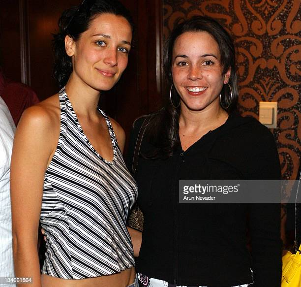 Ana Asensio and Cheyenne Rothman during CineVegas Filmmakers Awards Luncheon at Postrio The Venetian in Las Vegas Nevada United States