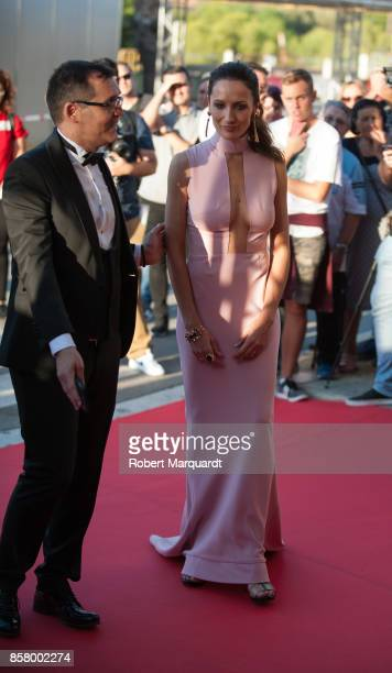 Ana Asensio arrives on the red carpet at the Sitges Film Festival 2017 on October 5 2017 in Sitges Spain