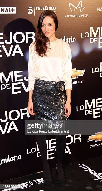 Ana Asensio attends 'Lo mejor de Eva' photocall premiere on February 9 2012 in Madrid Spain