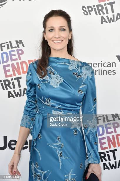 Ana Asensio attends the 2018 Film Independent Spirit Awards Arrivals on March 3 2018 in Santa Monica California