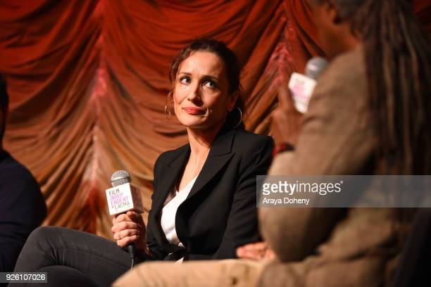 Ana Asensio attends the Film Independent at LACMA hosts special screening of 'A Child Is Waiting' at Bing Theater At LACMA on March 1 2018 in Los...