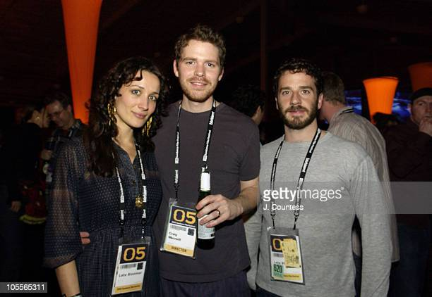 Ana Asensio Craig Macneill director of Late Bloomer guest