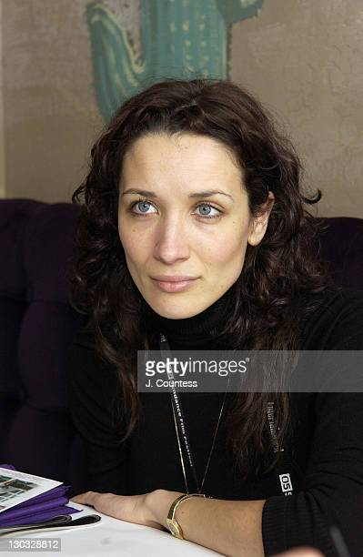 Ana Asensio during 2005 Sundance Film Festival Director's Lunch 2 at Purple Sage in Park City Utah United States