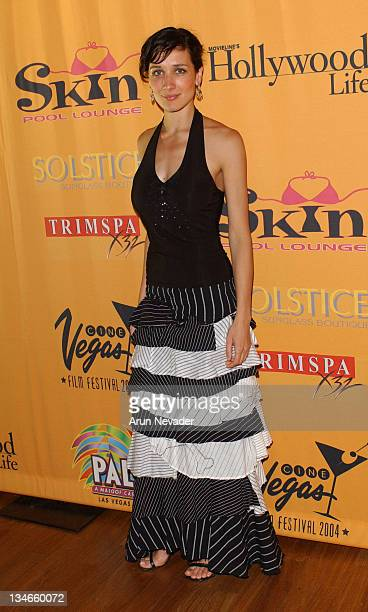 Ana Asensio during CineVegas 2004 Movieline's Hollywood Life and The Palms Casino Resort Host the Closing Gala of CineVegas 2004 at Palms Casino...