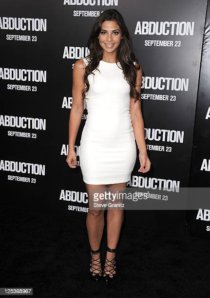 Ana Ayora attends the 'Abduction' Los Angeles Premiere at Grauman's Chinese Theatre on September 15 2011 in Hollywood California