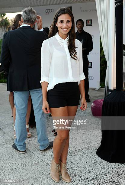 Ana Ayora attends The Kingdom Of Morocco Celebrates Summer With The Art Of Elysium on August 22 2012 in Beverly Hills California