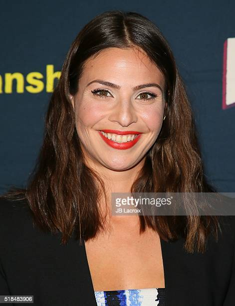 Ana Ayora attends the premiere of Cinemax's 'Banshee' 4th Season at UTA on March 31 2016 in Beverly Hills California