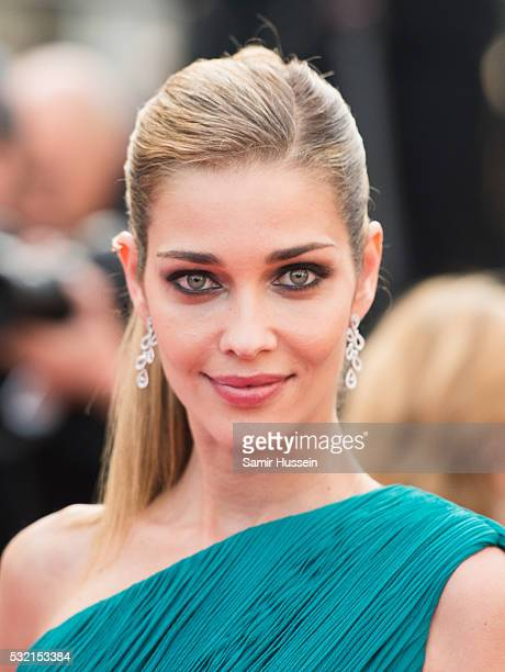 Ana Beatriz attends the screening of 'The Unkown Girl ' at the annual 69th Cannes Film Festival at Palais des Festivals on May 18 2016 in Cannes...